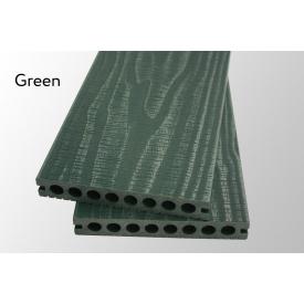 Террасная доска Woodlux Ultra Vintage Green 23мм
