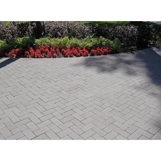 Тротуарна плитка Gartec Цегла без фаски 200х100х40 мм сірий
