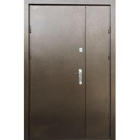 Входные двери Редфорт ПОЛУТОРНЫЕ Металл-металл с притвором