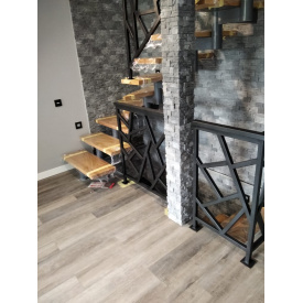 Лестница металлический каркас профиль 100х100