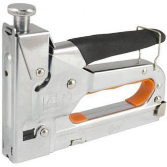 Степлер професійний LТ 500-001 4-14мм з регулятором хромований