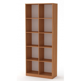 Книжный шкаф витрина Компанит КШ-2 дсп цвет ольха