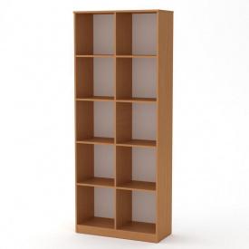 Книжный шкаф витрина Компанит КШ-2 дсп цвет бук