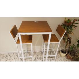 Комплект барний (стіл + стільці) GoodsMetall в стилі Лофт Airplane