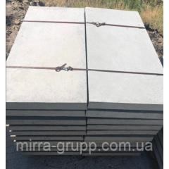 Плита дорожня Мірра-Груп 6П.5 F200 1000х500х60 мм сіра армована Київ