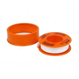Фум лента Polax тефлоновая уплотнительная 10 м x 12 мм x 0,1 мм (52-001)
