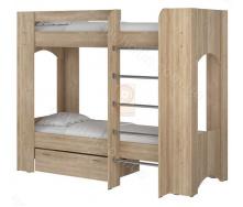 Ліжко двоярусне Дует 2 70х190 Пехотін
