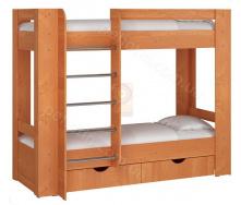 Ліжко двоярусне Дует 3 70х190 Пехотін