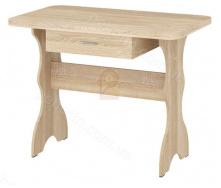 Стіл кухонний простий-1 з ящиком Пехотін