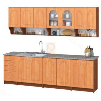 Кухня комплект Олена МДФ 2.6 м. Пехотін