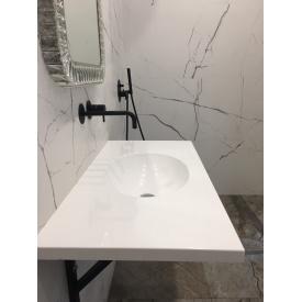 Умывальник R&D со столешницей из искусственного камня 35х500х1000 мм белый