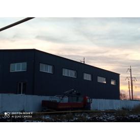 Монтаж крупногабаритных металлических конструкций из стали под заказ