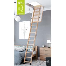 Чердачная лестница Bukwood ECO+ Long 120х70 см