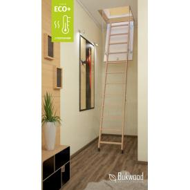 Складні сходи на горище Bukwood ECO+ Standard 120х70 см