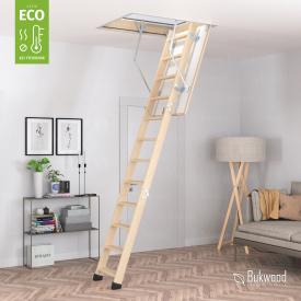 Лестница на чердак Bukwood ECO Standard 120х70 см