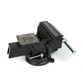 Тиски слесарные Polax настольные поворотные 150 мм (25-101)
