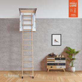 Чердачная лестница Bukwood Double Luxe Mini 90х60 см