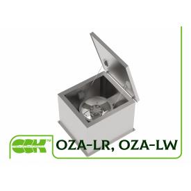 Вентиляторы осевые дымоудаления утепленные OZA-LR, OZA-LW