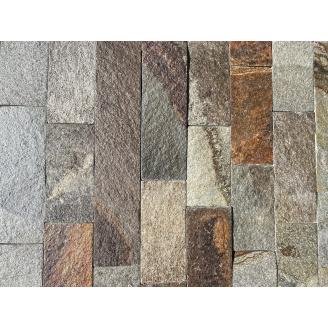 Камінь соломка ALEX Group Закарпатський андезит шоколадно-коричневий