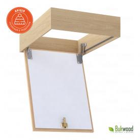 Горищний люк без драбини Bukwood ECO 50x50 см