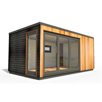Барнхаус сучасний модульний будинок 2х4 м