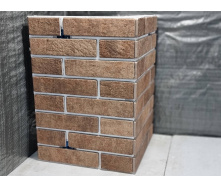 Прямой угол на 1,5 плитки (245x65)