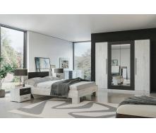 Спальня Лілею Нова Світ меблів антрацит / аляска