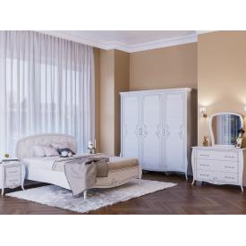 Спальня Тереза Світ меблів ясен білий