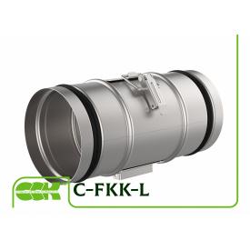 Фильтр канальный компактный для круглых каналов C-FKK-L