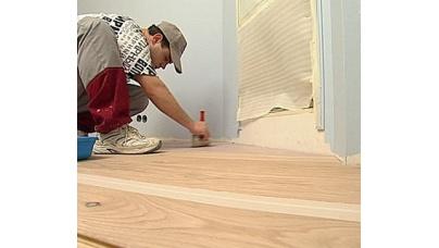 Ремонт старої дерев'яної підлоги