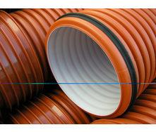 Труба гофрированная K2-KAN для наружной канализации 400 мм 6 м