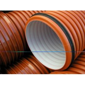 Труба гофрована K2-KAN для зовнішньої каналізації 400 мм 6 м
