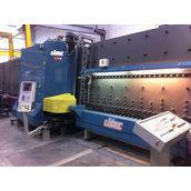 Склопакетна лінія Lisec 1600*2500 мм з газ пресом