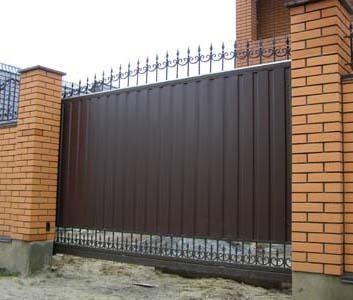 Как выбрать откатные ворота в 2021 году