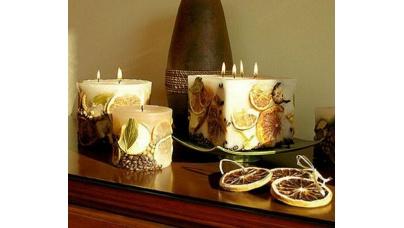 Свічки своїми руками