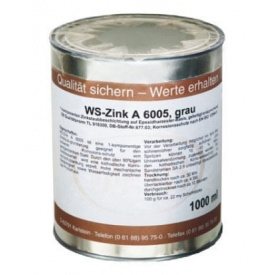 Краска для металла WS-Plast Zink 1 л