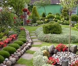 Приклади дизайну саду