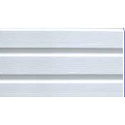 Панель Соффит Крупная текстура Т-19 3000x232 мм белая