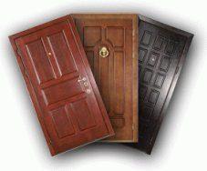 Вхідні дерев'яні двері