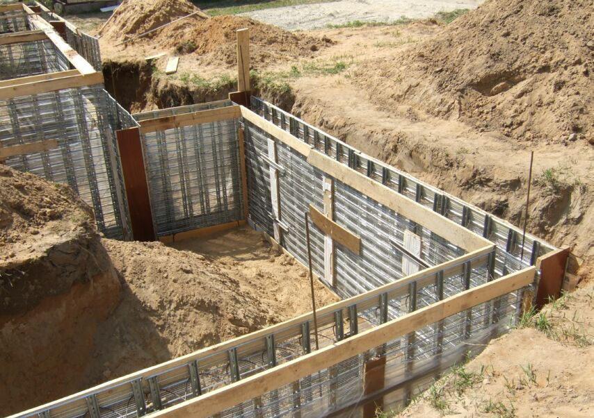 Ошибки при строительстве фундаментов и цоколей