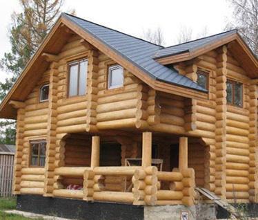 Будівництво рубаного будинку