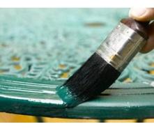 Покраска металлической поверхности в два слоя