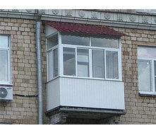 Облаштування даху над балконом з металочерепиці