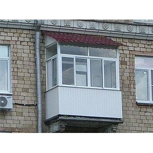 Устройство крыши над балконом из металлочерепицы