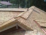 Кровля деревянной крыши