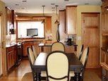 Дизайн интерьера кухни столовой
