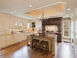 Кухня в стиле кантри дизайн интерьера