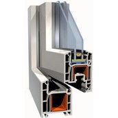 Армуючий профіль для ПВХ конструкцій 28х30х28 мм