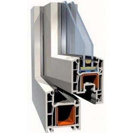 Армирующий профильдля ПВХ конструкций 28х30х28 мм
