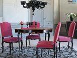 Дизайн столовой с деревянной мебелью